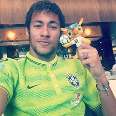 Neymar is ready for the World Cup