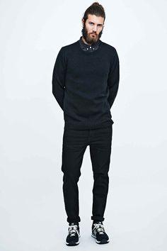 Suit Kalle Jumper in Black