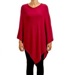 SYLVIE PONCHO VERY BERY via Jascha online store. Click on the image to see more!