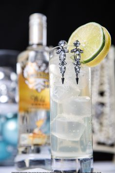 Wish You Were Here with 1 oz. Smirnoff® Wild Honey Flavored Vodka, 2 oz. dry white wine and 3 oz. lemon-lime soda. Add ingredients to an ice-filled stemmed glass. Stir. Garnish with lemon and lime wheels. #Smirnoff #drink #recipe #holiday #gifts