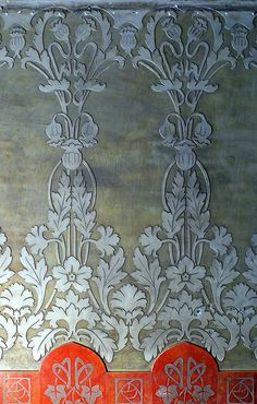 SO burning this into a stencil/pattern for my files Barcelona - Mallorca Casa Josep Alemany Architect: Juli Maria Fossas i Martínez via Arnim Schulz Art Nouveau, Textile Patterns, Print Patterns, Stencils, Art Decor, Decoration, Motif Floral, Surface Design, Pattern Design