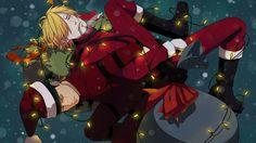 Zoro and Sanji Christmas Anime One Piece Wallpaper