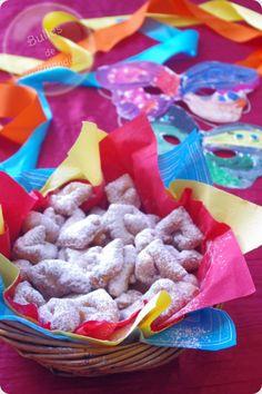 Beignets pour carnaval... c'est la fête !