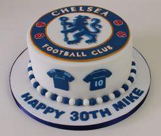 Chelsea FC cake