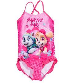 98a937d6c1 Girls Paw Patrol Swimsuit   Puppy   Swimsuits, Paw patrol, Swimwear
