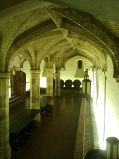 King Henry VIII's wine cellar  I want a wine cellar like this and hopefully filled with all sorts of yummy wines!!
