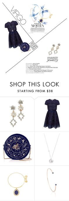 """Untitled #6"" by aisanazihah ❤ liked on Polyvore featuring Lulu Frost, Ted Baker, Elizabeth Showers, Alex and Ani and Astrid & Miyu"
