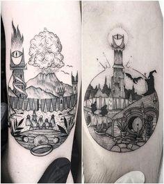 line tattoo geometric Hobbit Tattoo, Tolkien Tattoo, Lotr Tattoo, B Tattoo, Ring Tattoos, Body Art Tattoos, Sleeve Tattoos, Dream Tattoos, Future Tattoos