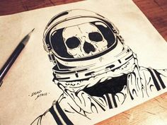 astronaut drawing - Google Search