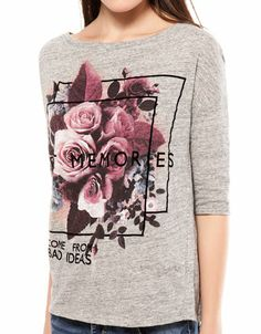 Bershka France - T-shirt Bershka fleurs