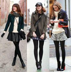 Está aí uma dica de moda que nem sempre usamos, pois não só de calças e tricots consistem os looks de inverno. Usando meia-calça, você pode criar infinidades de composições com saias, vestidos e…