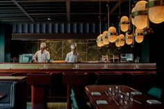 This Charlie & Rose-designed restaurant serves high-end Japanese cuisine and unexpected Spanish flavours in an opulent and decidedly retro setting