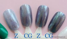 Cheap dupe (but better!) for Zoya FeiFei and OPI On Her Majesty's Secret Service: CoverGirl Midnight Magic