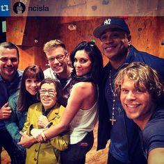 @ncisla family + selfie= felfie?
