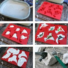 Do It Yourself Dinosaur Fossils: 25 DIY Summer Activities For Kids  | Felicity Huffman's What The Flicka? #ideas #crafts #games