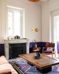 A French home with historic charm and lots of colorful design ideas.