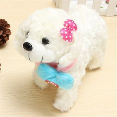 Hot sale funny all kinds of Musical Singing Dancing Walking Electronic Moving Dog Toys For Children Best Gift For Kids