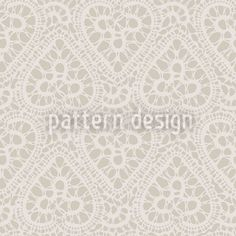 Bewildered Hearts Sand designed by Maja Tomazic, vector download available on patterndesigns.com Heart Patterns, Print Patterns, Pattern Designs, Rose Lace, Vector Pattern, Vector File, Pattern Paper, Home Textile, Surface Design