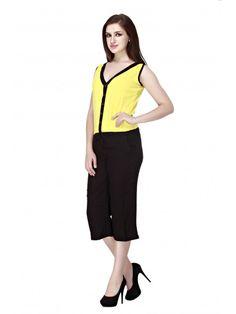 9a6893e0a3c0 Rayon Capri Jumpsuits - Jumpsuits - By Cottinfab.com