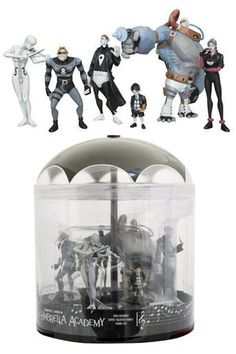 The Umbrella Academy 6 Piece Figure set :: Profile :: Dark Horse Comics