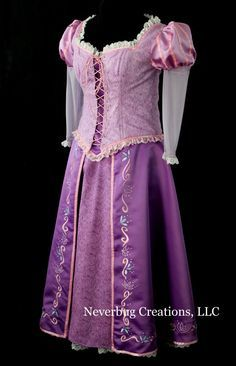 adult rapunzel cosplay dress - Google Search