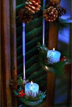 Você sabia que uma concha de sopa pode servir para fazer uma linda decoração de natal na sua cozinha? Ela se torna um perfeito suporte de velas! Confira em nosso blog! http://www.lebiscuit.com.br/dia-da-criatividade-decoracao-magica-cozinha/