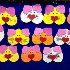 Valentine's Day craft idea for kids | Crafts and Worksheets for Preschool,Toddler and Kindergarten