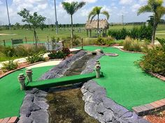 Mini Golf Course at Alico Family Golf | Alico Family Golf