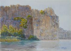 Majestic walls, Ord river