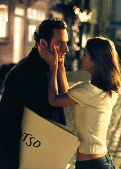 Andrew Lincoln (Mark) & Keira Knightley (Juliet) - Love Actually directed by Richard Curtis (2003)
