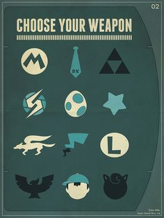 Choose Your Weapon by Dylan Miller, via Flickr
