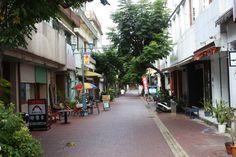 Okinawa City, Japan.