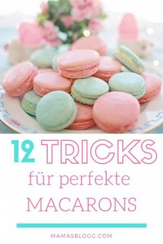 easter macarons flavors results - ImageSearch Macarons, Macaron Flavors, Tricks, Blog, Breakfast, Macaroni Recipes, Food Coloring, Almonds, Chocolate