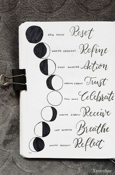 Moon lunar phases and the meanings . October bullet journal moon theme 2019 fall autumn halloween lunar phases moon child quote bujo spread quotes for work Bullet Journal Quotes, Bullet Journal 2020, Bullet Journal Ideas Pages, Bullet Journal Layout, Journal Pages, Bullet Journal October Theme, Bullet Journal Halloween, Bullet Journal Decoration, Wicca