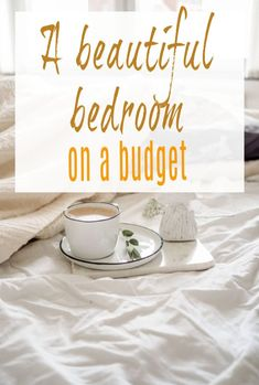 How to create a beautiful bedroom on a budget with these brilliant bedroom design and decor tips and these bedroom makeover hacks and DIY tips  #bedroom #bedroommakeover #bedroomdecor #bedroomdesign #budgetmakeover
