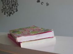 We have a journal like this at home now. Just cool.