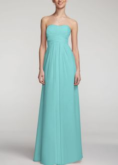 David's bridal dress F15555 in Spa - officially the bridesmaid dress. :)
