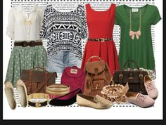 cute back to school outfits and accessories