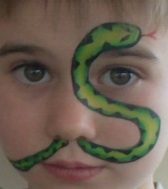 snake facepaint - Google Search
