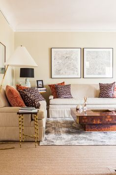 """Tip #3. """"Try any color but white on your ceilings–it makes the entire room feel much more considered.  The ceilings throughout are painted the palest shell pink, which reflects beautifully on skin and is so subtle that most people don't notice it unless you use white trim."""" –Chloe Warner.  See the full story here: http://www.lonny.com/magazine/July+August+2013/Sl6QLDiJ9F5/1#42"""