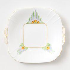 victorian cake plate