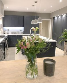 I hope everyone is having a lovely weekend 😘 xx Kitchen Extension Family Room, Small Kitchen Diner, Open Plan Kitchen Dining Living, Living Room Kitchen, Home Decor Kitchen, Interior Design Living Room, Kitchen Ideas, Kitchen Design, Dream Home Design
