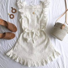 outfit for plus size Cute Casual Outfits, Girly Outfits, Cute Summer Outfits, Pretty Outfits, Spring Outfits, Teen Fashion, Fashion Outfits, Mode Boho, Embroidered Clothes