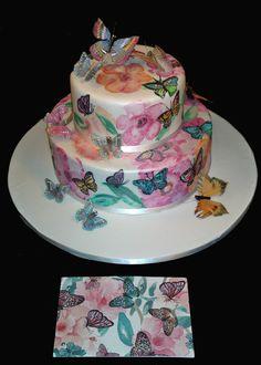 https://flic.kr/p/cVeDPJ | 33060PAINTED CAKE creative cake art celebration cake