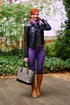 44ca5bc2f141 Guest Post   Catherine of Not Dressed As Lamb Black Leather Biker Jacket