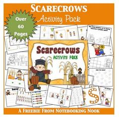 Free Scarecrow Activity Pack