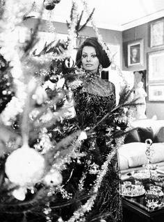 The Mid-Century Modern Freak (and Sophia Loren!) would like to wish you all Buon Natale! - Via