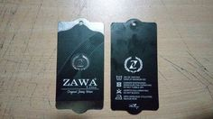 Zawa Line sallantı kart çalışmam