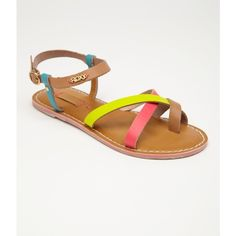 Roxy Carnivale Sandals ($54) ❤ liked on Polyvore