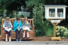 We love Tiny Free Library! Check out their amazing tiny libraries from around world.